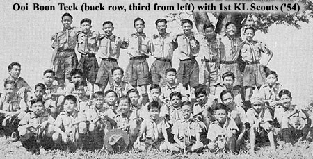 1st KL Scouts 1954