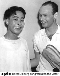 Oon Chong Jin and Bernt Dalberg