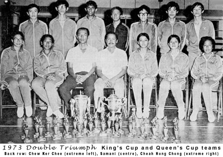 King's & Queen's Cup teams 73