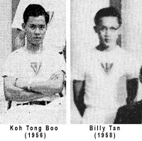Tong Boo and Billy Tan